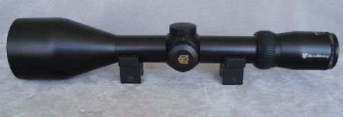Nikko Stirling Diamond 3-12x62 Etched Glass no4 Red-Green-Black Illuminated Reticle Scope